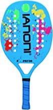 ianoni Beach Tennis Racket,Carbon Fiber Grit Face with EVA Memory Foam Core Beach Tennis Racket