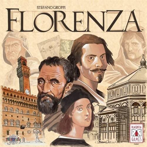 Florenza Board Game by Placentia Games