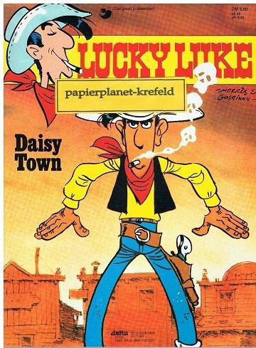 LUCKY LUKE 40 Daisy Town 1. Auflage 1984, Ehapa Comic Softcover-Album