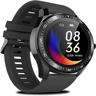 JessFash Reloj Deportivo Reloj Inteligente Actividad Rastreador de Ejercicios Reloj Monitor de frecuencia cardíaca IP68 Reloj Digital a Prueba de Agua con Paso Calorías Monitor