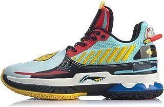 LI-NING Wow 7 Series Wade Men Professional Basketball Shoes Male Classic Wearable Cushioning Sports Sneakers ABAN079