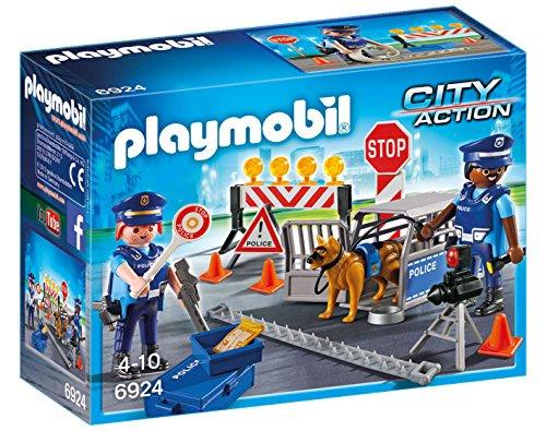 Playmobil Control de Policía 6924