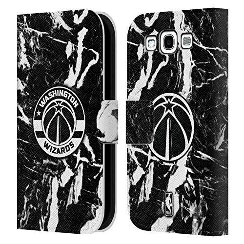 Head Case Designs Ufficiale NBA Marmoreo 2019/20 Washington Wizards Cover in Pelle a Portafoglio Compatibile con Samsung Galaxy S3 III I9300