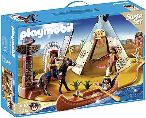 PLAYMOBIL Oeste - Superset Campamento Indio 4012
