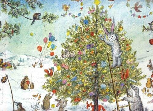 Adventskalender, Hase Hannes Weihnacht
