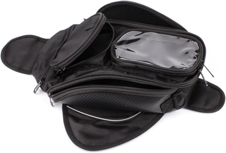 Lozom Motorcycle Gas Oil Fuel Tank Bag Waterproof Backpack & Magnetic Motorcycle Tank Bag for Honda Yamaha Suzuki Kawasaki Harley: Automotive