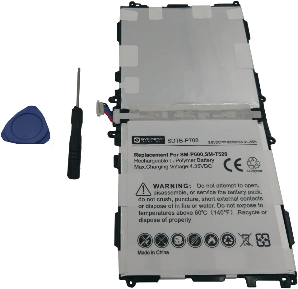 Synergy Digital Tablet Battery Works Galaxy with Note Complete Free Shipping Selling Samsung 1