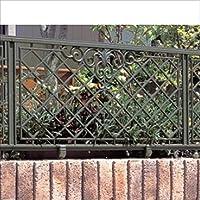三協アルミ 鋳物フェンス ラビロス1型 本体 1006 フリー支柱タイプ 『アルミフェンス 柵』 ダークオリーブ