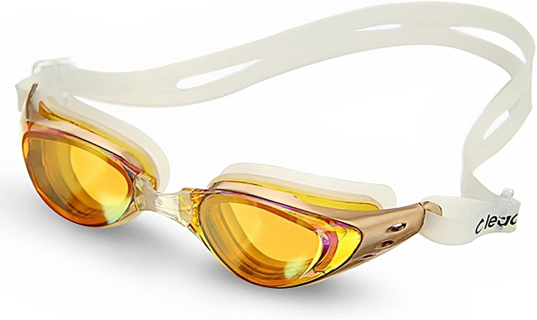 Foxnovo Leacco DL603 調節可能なユニセックス大人用 くもらない紫外線対策水泳用ゴーグル 水泳用メガネ