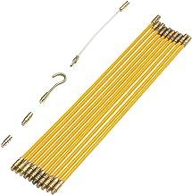 Bonarty Conducteur De C/âble De Mur De Conduit De Fil De De Fibre De Verre Dextracteur De C/âble De 3mm Pour L/électricien