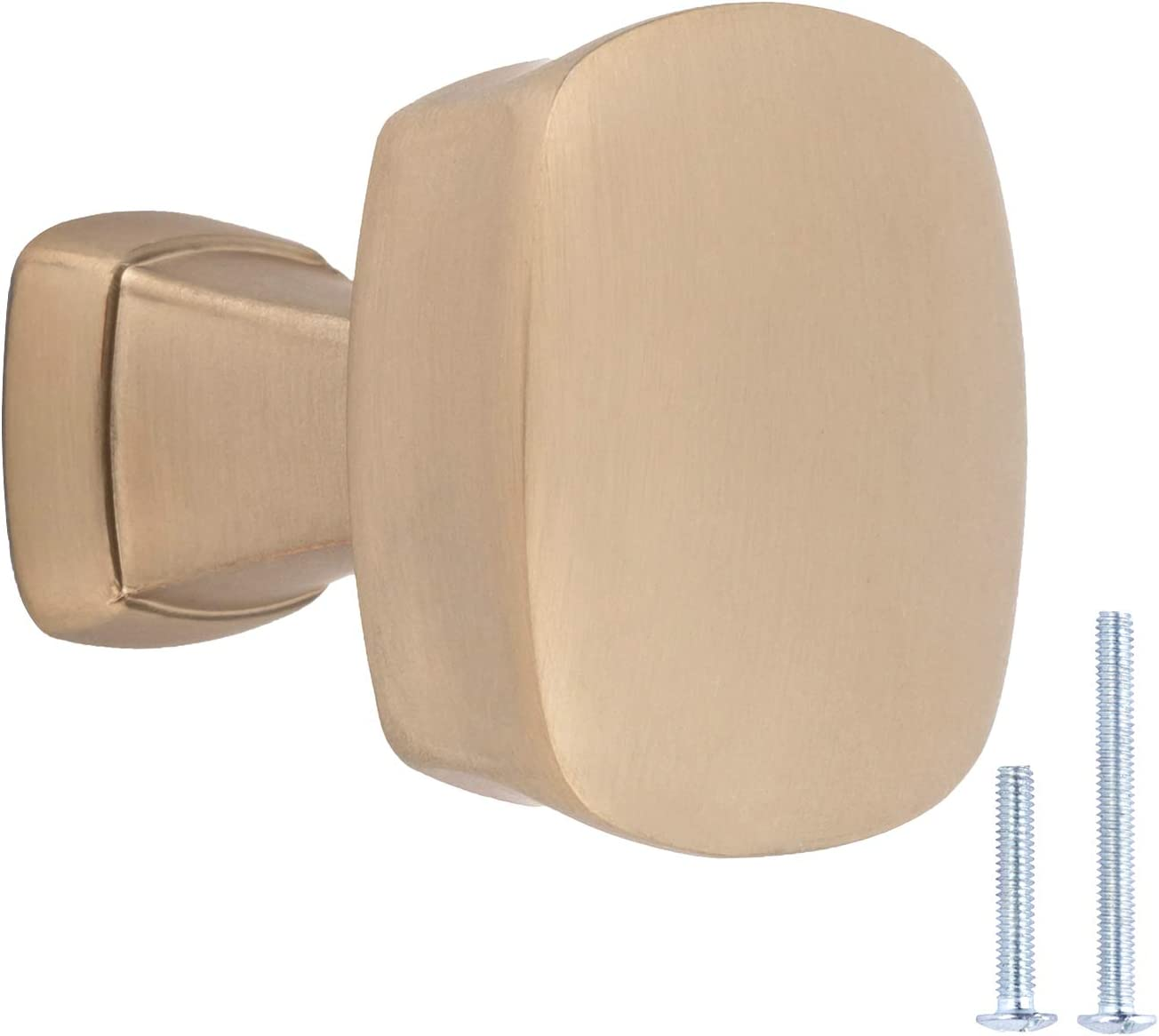 Amazon Basics Rounded Square Cabinet 1.26-inch Tulsa Mall G Diameter Recommendation Knob