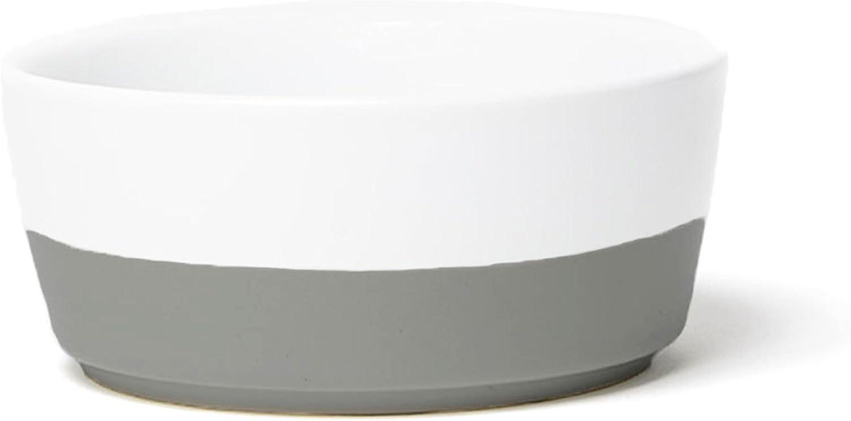 Ceramic Dipper Dog Bowl (Small, Dolphin)