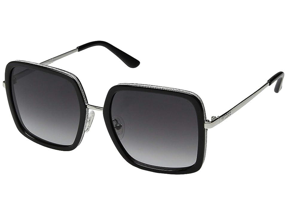 GUESS GU7602 (Black Front/Grey Gradient Lens) Fashion Sunglasses