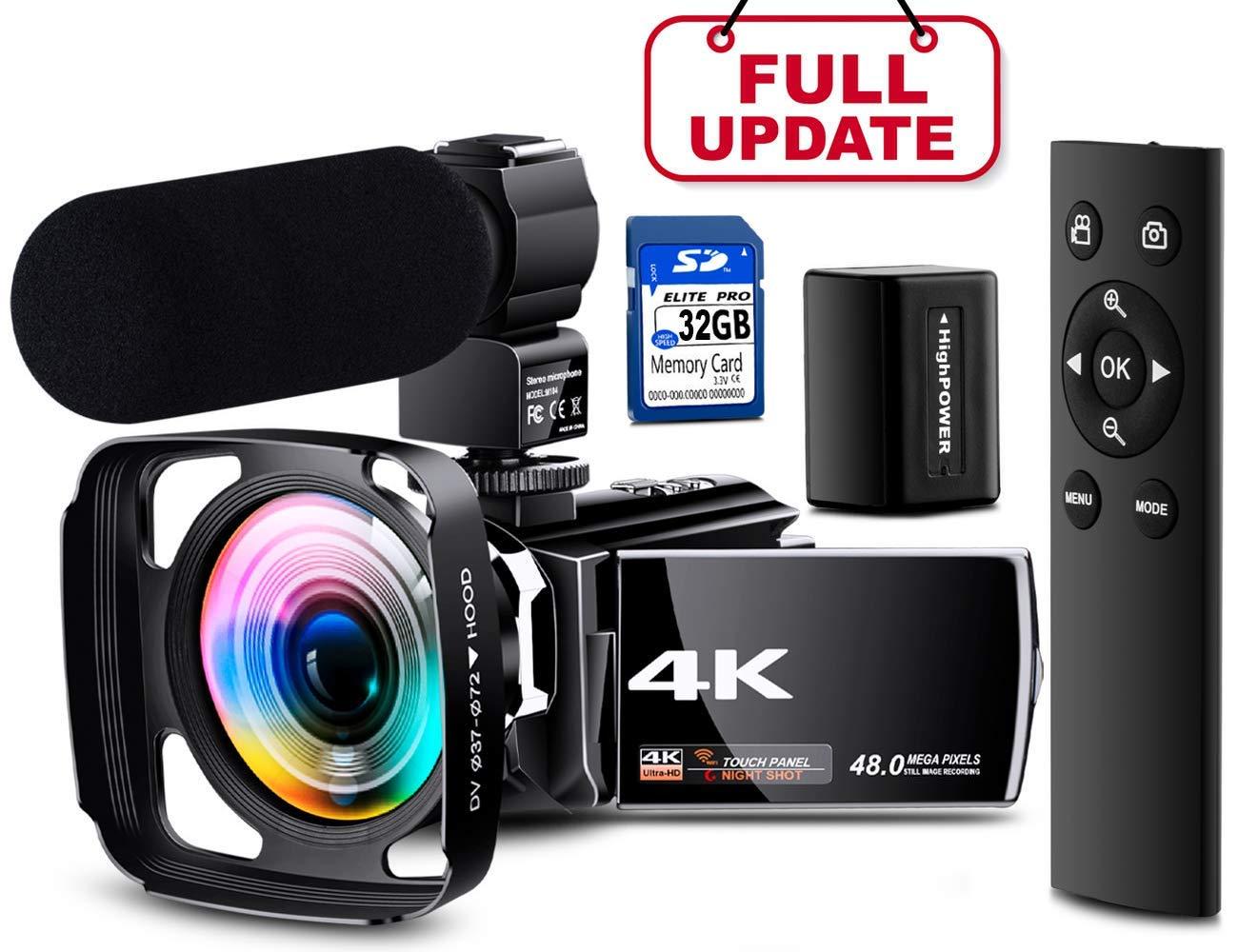 NAPATEK 4K Camera Under 1000