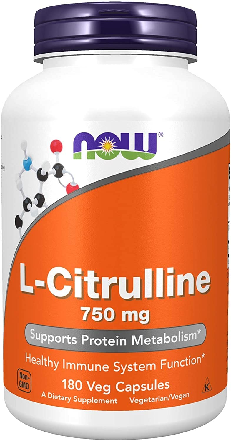 Drect Now Supplements L-Citrulline 750 Met Spasm price mg Max 43% OFF Protein Supports