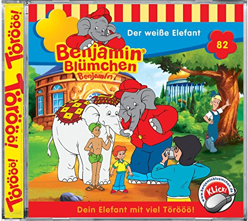 Benjamin Blümchen - Folge 82: Der weisse Elefant