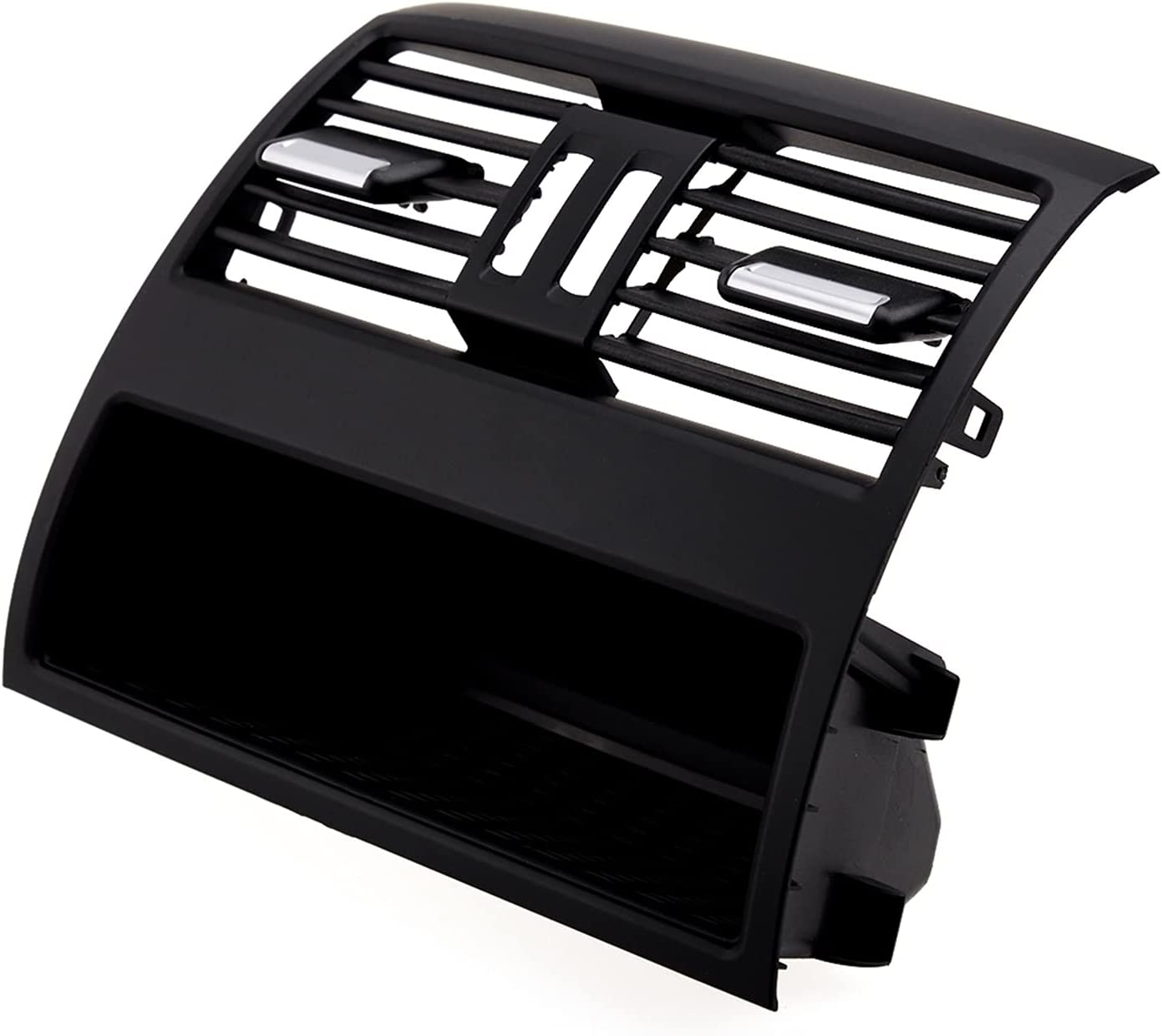 MeiZi Consola de Centro Trasero Consola de ventilación de Aire Fresco Grille A/C Cubierta de Panel Moldeo Fit para BMW 5 Series F10 F11 F18 520i 520D 64229172167