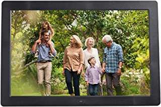 Digital Photo Frame,15-inch HD High Resolution LCD can Wall-Mountable, MP3 / MP4 Player Electronic Picture Frame Portrait&...