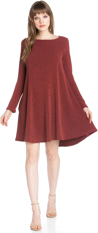 Junky Closet Women's Print Side Pocket Tunic Top Dress