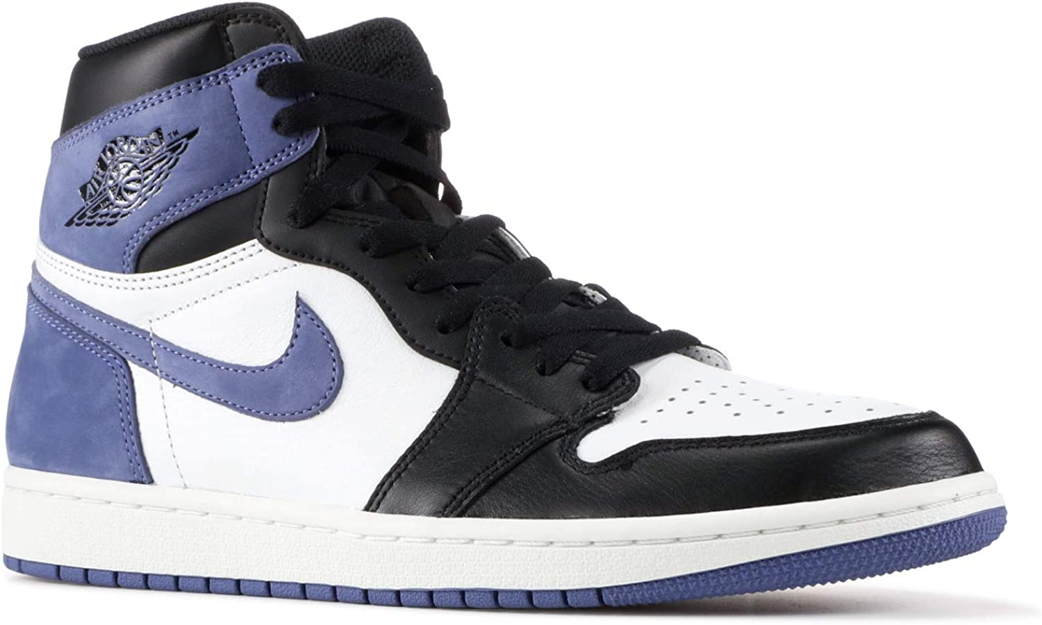 Amazon.com | Nike Air Jordan 1 I Blue Moon Best Hand in The ...