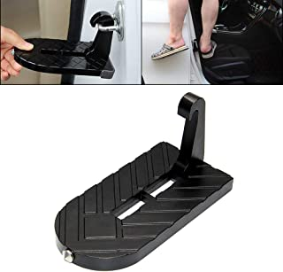 OPP ULITE Jeep Door Step Foot Pegs Easy Access Doorstep Folding Ladder with Safety Hammer for Car Rooftop Roof-Rack Truck SUV Jeep (Foot Peg New)