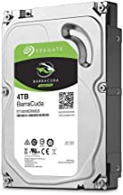 Seagate BarraCuda Internal Hard Drive 4TB SATA 6Gb/s 256MB Cache 3.5-Inch (ST4000DM005)