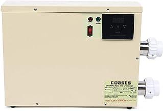 WGIRL Bomba De Calor Piscina Calefacción Piscina Calefacción Piscina Calefacción Piscina Calefacción Intercambiador De Calor Inteligente Termostato Alta Potencia Opcional,5.5 kW