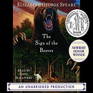 The Sign of the Beaver audiobook cover art