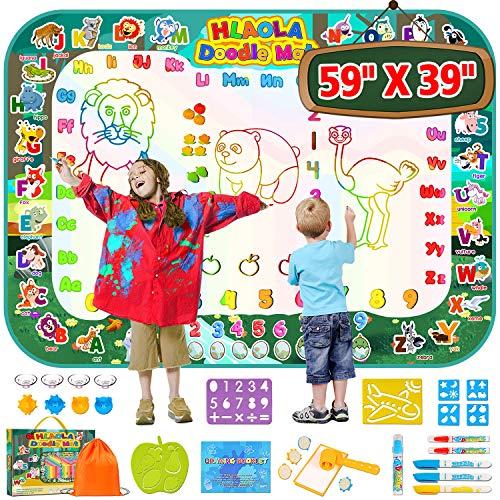 HLAOLA Aqua Magic Doodle Mat 59 x 40 Inches Extra