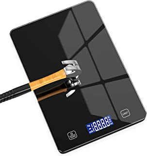 Nicewell Food Scale, 11lb Digital Kitchen Black Scale Weight Grams and oz for Cooking Baking, 1g/0.1oz Precise Graduation,...