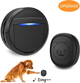 weird tails Wireless Doorbell, Dog Bells for Potty Training IP55 Waterproof Doorbell Chime Operating at 950 Feet with 55 Melodies 5 Volume Levels LED Flash