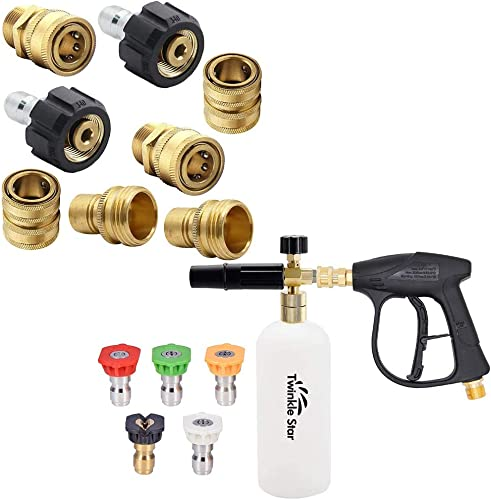 high quality Twinkle Star Pressure Washer outlet online sale Adapter Set | Pressure discount Washer Gun Snow Foam Lance online