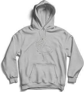 Flamingo Hungry Ice Cream_010907 Hoodie Pullover Sweatshirt Sweater For Her Him