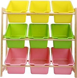 Boîte de rangement pour enfants Panier de rangement - for organiser le rangement de jouets Jouets for bébés Jouets for enf...