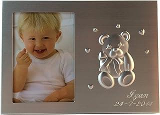 Curia Grabador Portafoto Infantil para Bautizo Personalizado