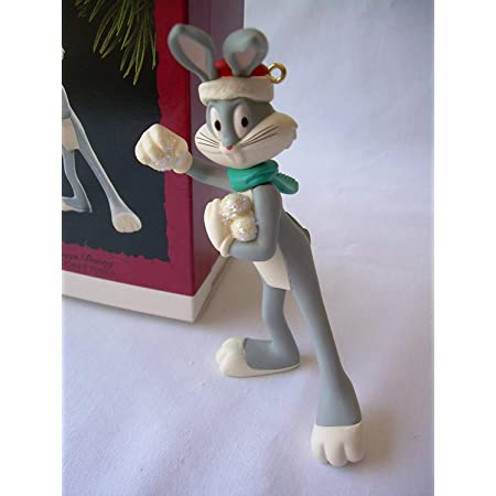 Looney Tunes Bugs Bunny Lamp Ornament Set Of 3 NEW