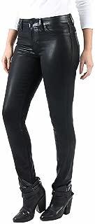 Ladies' Coated Skinny Jean, Black Denim - Forever Black Collection