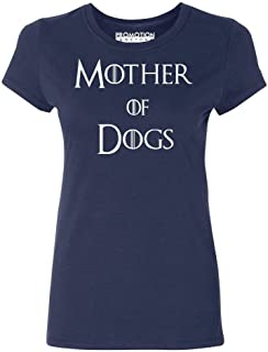 P&B Mother of Dogs Funny Women's T-Shirt