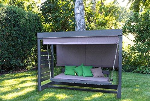 Un toque de lujo en su Terraza, en su jardín. topschicke columpio...