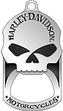 Harley-Davidson Willie G. Skull Bottle Opener Dog Tag Necklace/KeyChain 8002749
