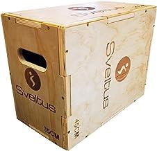sveltus Houten plyobox kleine houten box training behendigheid coördinatie kracht
