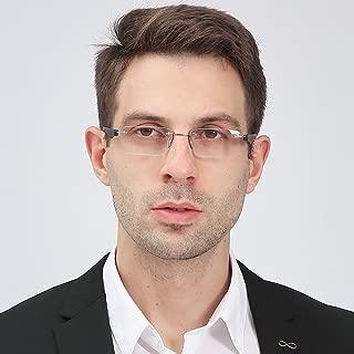 Suertree Reading Glasses Framless Computer Glasses Rimless Ultraight Eyewear Men Women Glasses BM111BM112