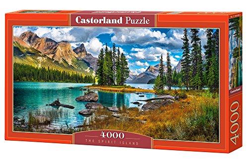 Castorland C-400188-2 - Puzzle (4000 Piezas), diseño de Paisaje mágico