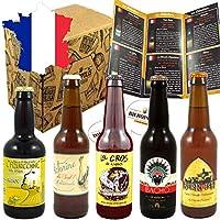 Cédric et Thibaut parcourent la France et le Monde pour dénicher les meilleures bières artisanales. La découverte est au rendez-vous avec cette sélection. 1 guide de dégustation présentant chaque bière et l'univers de la bière. Bières artisanales bra...