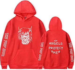 MU-PPX Sudaderas con Capucha Sudaderas Hombre/Mujer Manga Larga Streetwear Hip Hop Pullover Ropa Tallas Grandes