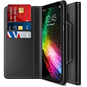 Galaxy S8 Plus Wallet Case, Maxboos [Folio Style] Samsung Galaxy S8+ / s8 Plus Card Case (2017) Stand Feature Premium Protective PU Leather Flip Cover w/Card Slot +Side Pocket Magnetic