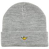 (クルキッド)KROOKED ビーニー ニット帽 帽子 スケートボードブランド メンズ レディース BIRD CUFF BEANIE