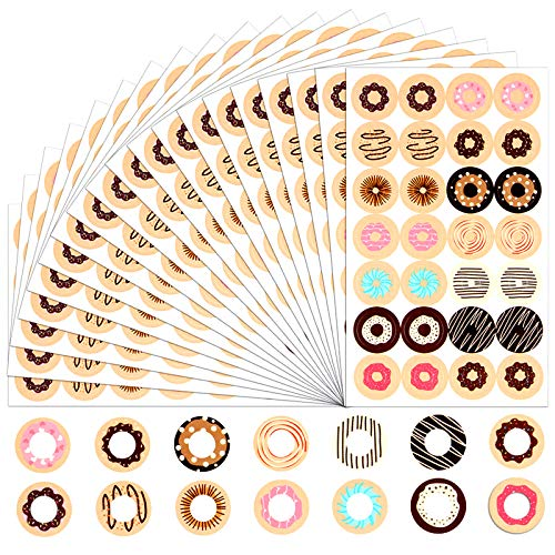 Hole Reinforcement Ring Label Stickers 1568Pcs Self Adhesive Reinforcement Label, Reinforcement Sticker for Repairing Loose Leaf Paper (14 Patterns)
