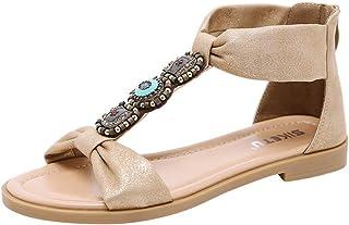 esCuñas Mujer Cristales Para Amazon Zapatos gYbf67y