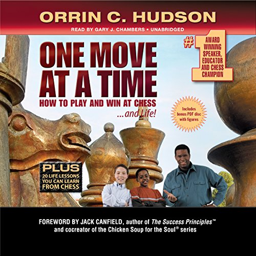 One Move at a Time audiobook cover art